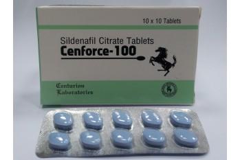 Sildenafil citrate (VIAGRA) - CENFORCE (100mg x 10 tabs)